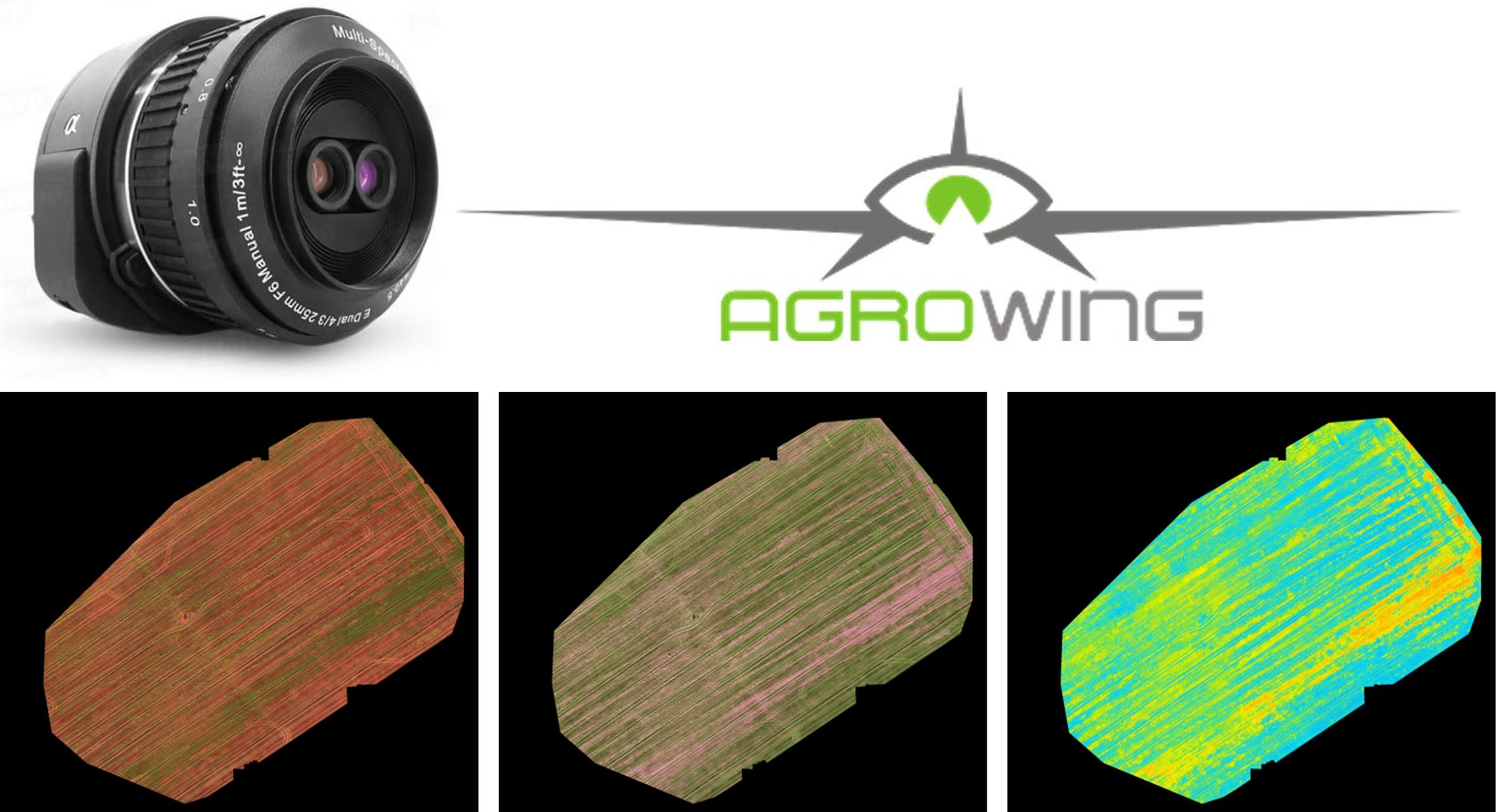 Agrowing QX 1 for dual orthomosaic generation